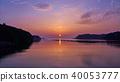 志摩半岛的黎明(三重县三木屋湾) 40053777