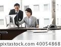 營業所書桌工作圖像 40054868