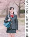 高中生 女孩 少女 40057015