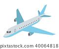 airplane, plane, aircraft 40064818