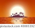 coconut, island, ocean 40065392