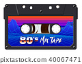 tape, vintage, cassette 40067471