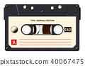 tape, vintage, cassette 40067475