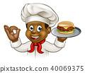 chef, burger, cartoon 40069375