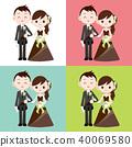 งานแต่งงาน,ทักซิโด,พื้นหลัง 40069580