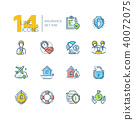 design, icon, set 40072075