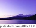 本栖湖的黎明 40073331