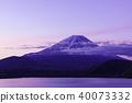 本栖湖的黎明 40073332