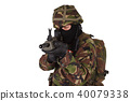 British Army Soldier 40079338