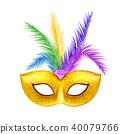 carnival decoration mask 40079766