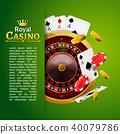 casino, red, roulette 40079786