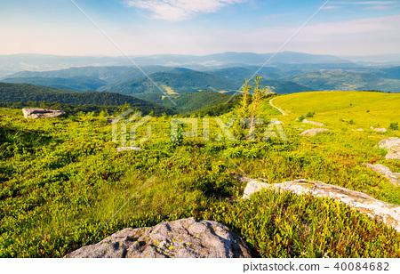 landscape in Carpathian high mountain ridge 40084682
