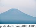 富士山在夏天 40084805