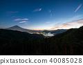富士和河口湖 40085028