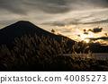從Mokugosan全景平台看到的富士山 40085273