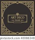 装饰 边界 框架 40086348