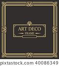 装饰 边界 框架 40086349