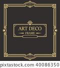 装饰 边界 框架 40086350