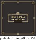 装饰 边界 框架 40086351