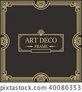 装饰 边界 框架 40086353