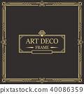 装饰 边界 框架 40086359