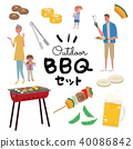 barbecue, barbecued, barbeque 40086842