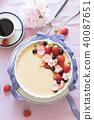 布丁 水果 牛乳布丁 40087651
