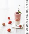 草莓冰沙 40087688