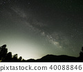starry, sky, milkyway 40088846