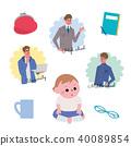 儿童的成长插图集 40089854