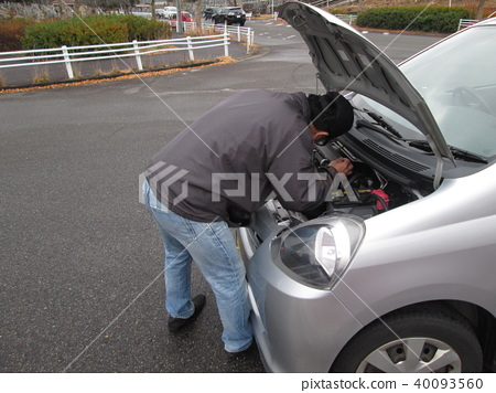 Engine check 40093560
