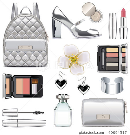 Vector Silver Fashion Accessories 40094517