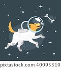 dog space suit 40095310
