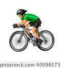 athlete, cyclist, bike 40096573