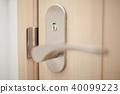 문 (문 손잡이 아파트 단독 주택 주택 출입구 복사 공간 문 복도 거실 집) 40099223