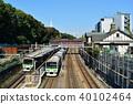 JR 야마노 테선 하라주쿠 역에 정차하는 열차 40102464