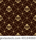 pattern vector gold 40104060