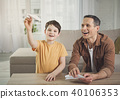 family, father, boy 40106353