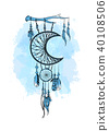 indian, dreamcatcher, feather 40108506