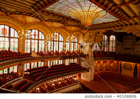 Palau de la Musica Catalana 40108806