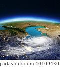 Caspian Sea and Caucasus. 3d rendering 40109430