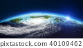 Planet Earth from space. 3d rendering 40109462