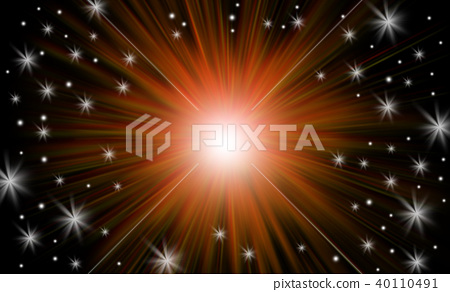 Abstract background, Beautiful rays of light. 40110491