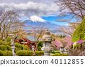 Fuji Mountain in Spring 40112855