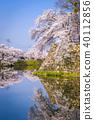 Hikone Castle Moat 40112856