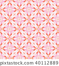 Vintage abstract seamless pattern, textile design 40112889