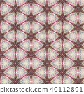Vintage abstract seamless pattern, textile design 40112891