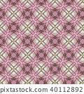 Vintage abstract seamless pattern, textile design 40112892