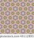 Vintage abstract seamless pattern, textile design 40112893