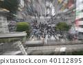 东京的城市景观在涩谷爬行交叉路口等的视图 40112895